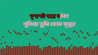 Alo Alo Tumi Kokhono Amar hobe na Tahsan bangla Karaoke lyricks