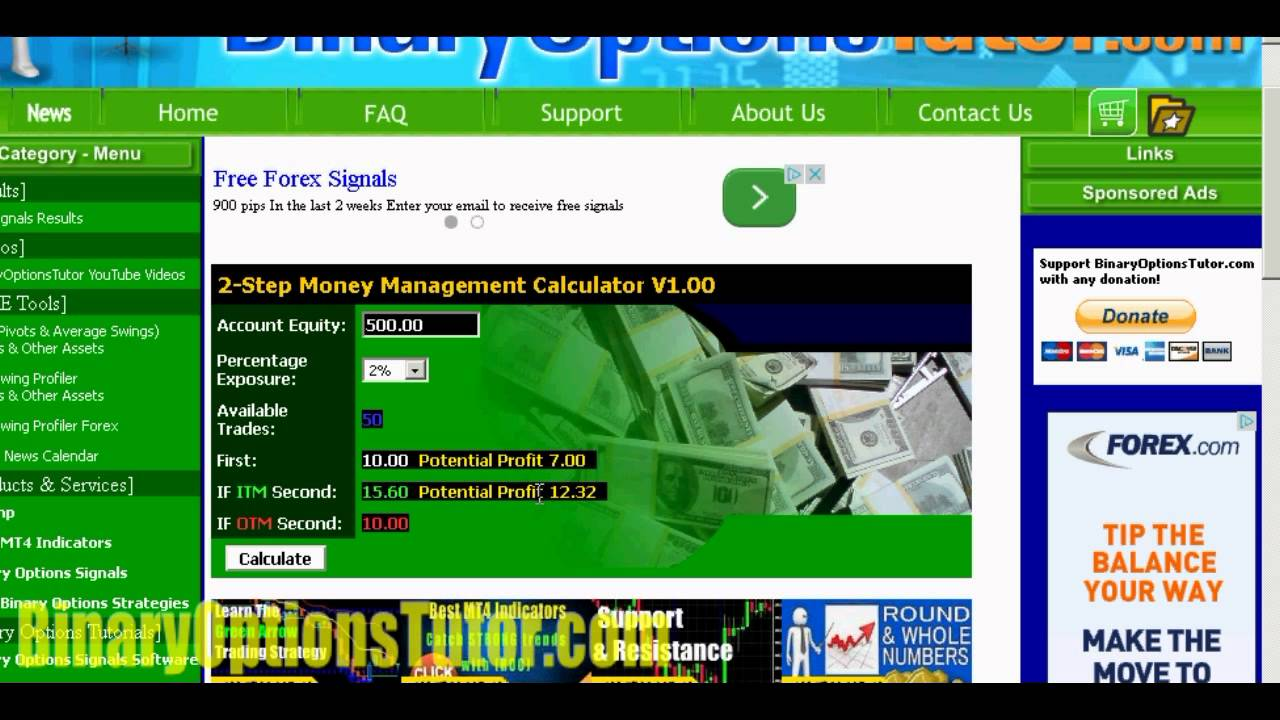 Binary option perfect money