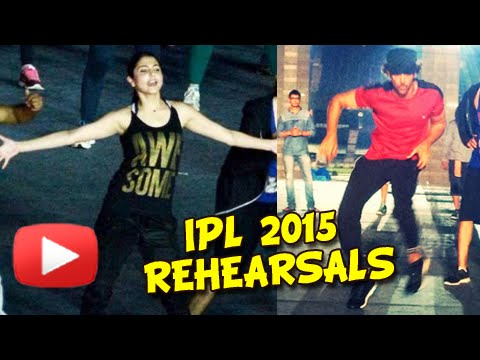 PICS IPL 2015 Opening Ceremony Rehearsals   Hrithik Roshan, Anushka Sharma, Shahid Kapoor