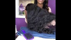 How to tame raw Indian hair