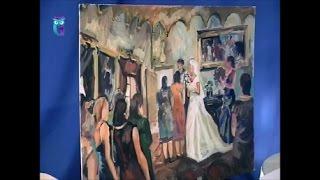 """Уроки рисования (№ 134). Рисуем картину """"Свадьба"""". Часть 2"""