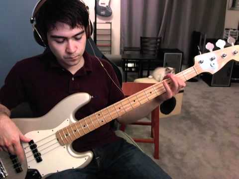 Love Song (The Cure as performed by 311) bass cover