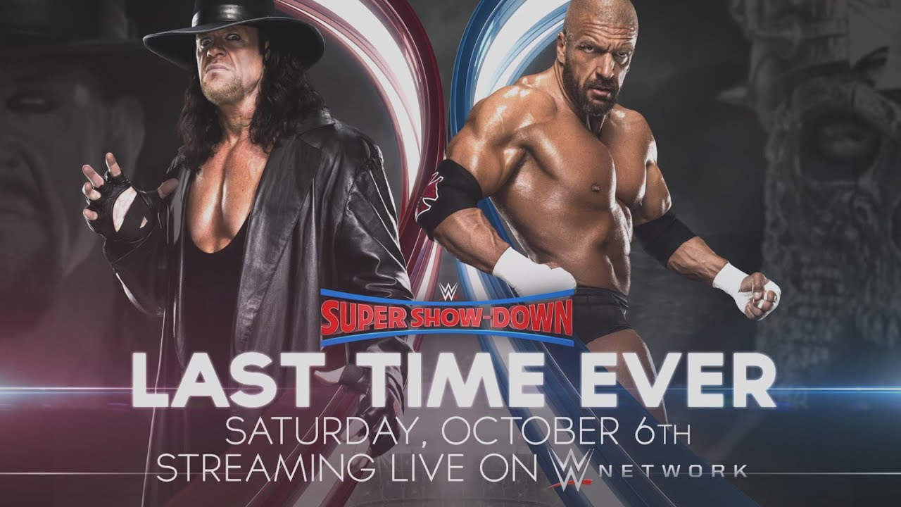 Triple H takes on The Undertaker for the last time ever at WWE Super Show-Down