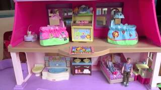Fisher Price Loving Family Dollhouse Review!