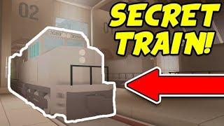 Secret jailbreak trem e base subterrânea! Asimo3089 jogo Secret Roblox!?