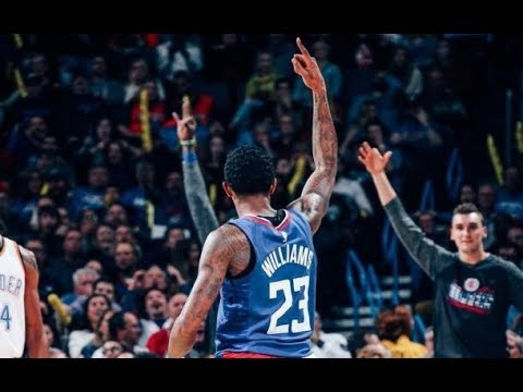 Lou Williams at Thunder (11/10/2017) - 35 Pts, 7 Rebs, 13-22 FGM, 6-12 3PM, OFF THE BENCH!