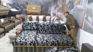 """Обзор углового дивана Барселона (Barselona) ф-ка Данко МеблиХит , раскладка """"Пантограф"""""""
