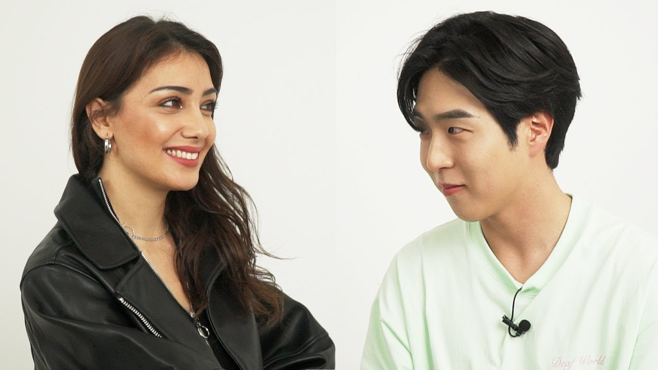 What if Korean Guy Meet Beautiful European Woman for the First Time?