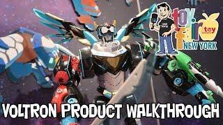 Voltron Playmates Toys Product Walkthrough at New York Toy Fair 2018