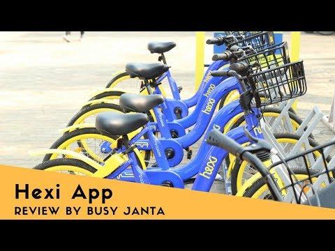 Hexibike | Hexi app | LPU | Lovely Professional University | #BusyJanta