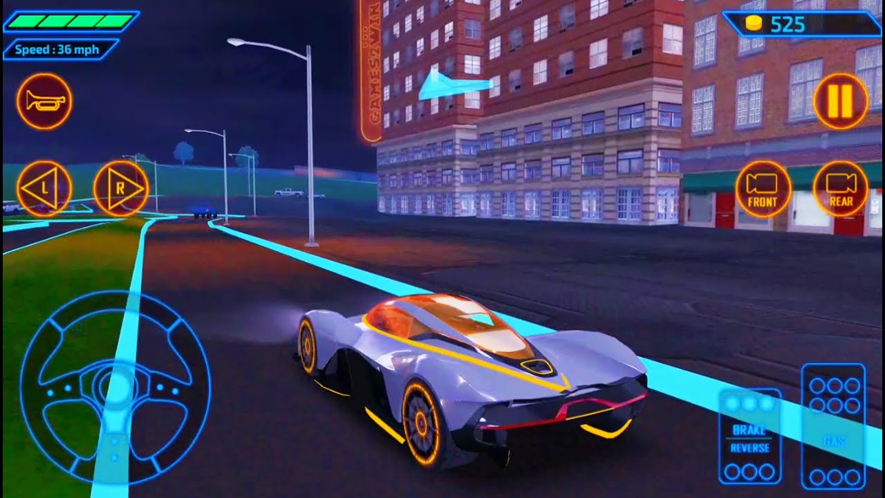 concept car driving simulator-best android gameplay hd #5 - youtube