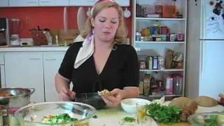 Alphabeet Soup Episode 7- Vegan Sweet Potato Samosas