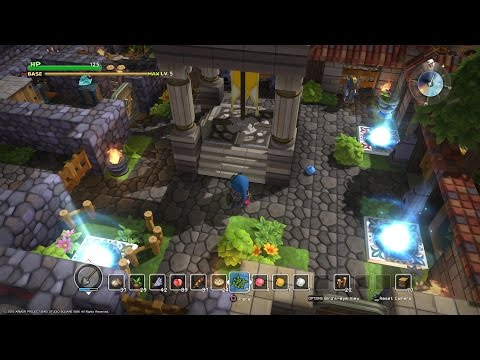Download Youtube: DRAGON QUEST BUILDERS: Chapter 1 Town Layout