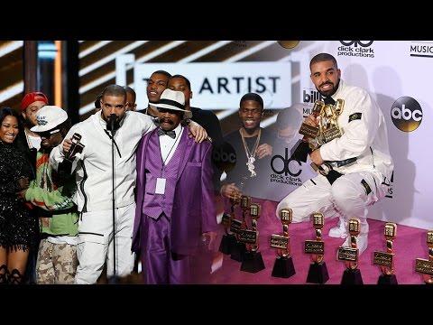 Drake breaks Adele's record at Billboard awards
