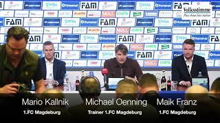 FCM-Trainer Michael Oenning stellt sich vor