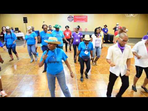 Shoulda Let You Go Line Dance  MTown Throwdown 2017  Memphis