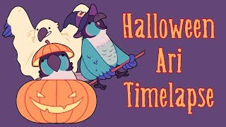 Halloween Ari - Timelapse
