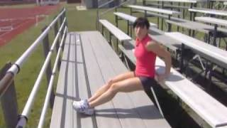 Outdoor Bleacher Workout - Made Fit TV - Ep 98