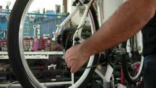 Regolazione Cambio Biciclette MTB, Corsa e City bike.wmv