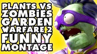 Plants Vs Zombies Garden Warfare 2 Funny Montage 2 Youtube