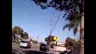 Motorized Bicycle Commute 20 Miles Garden Grove To Irvine, California