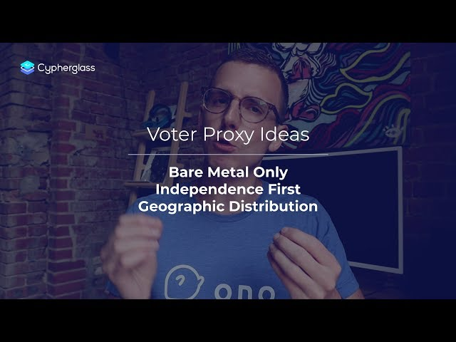 How to Set Up an EOS Voter Proxy