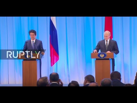 LIVE: Putin And Abe Deliver Press Statements Following Bilateral Talks In Osaka ENG