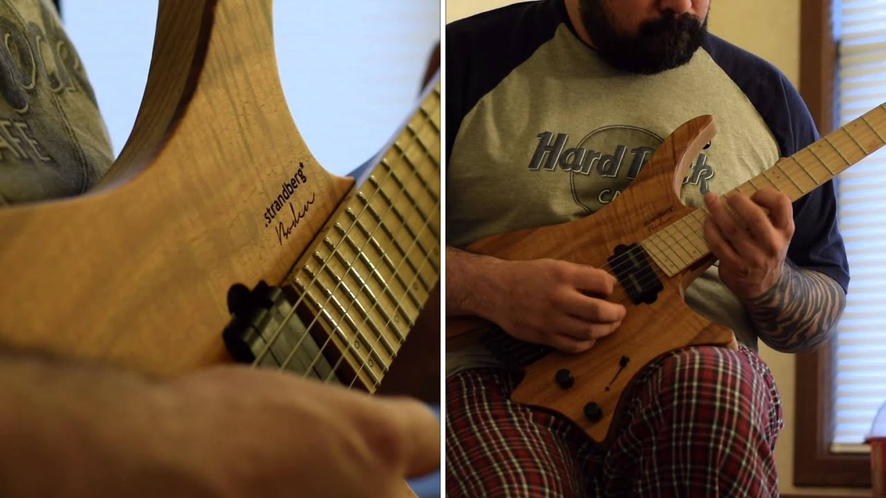 Strandberg washburn boden 6 koa youtube for Strandberg boden 6
