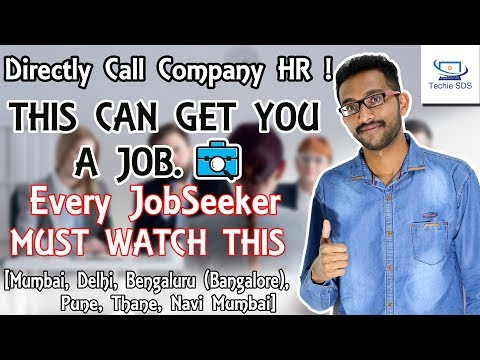 How to Get A Job in India | Secret Trick for JobSeekers in India | Career After Graduation