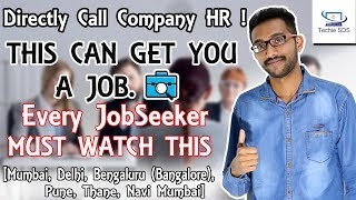 Find easy steps to learn how to Find a Job in India