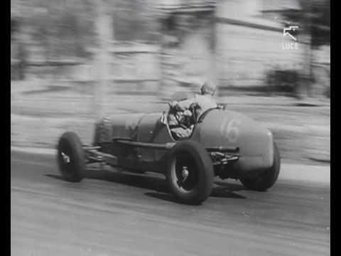 Gara automobilistica sul circuito del Valentino (1937)