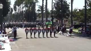 Magnolia HS - National Fencibles March - 2014 Loara Band Review
