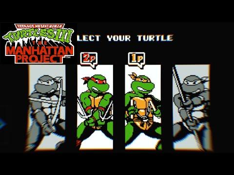 #1 Черепашки ниндзя 3 прохождение dendy, TMNT 3 NES [017]