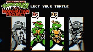 Teenage Mutant Ninja Turtles Dendy/NES  Черепашки Ниндзя 3: Проект Манхеттен часть 1 [017]