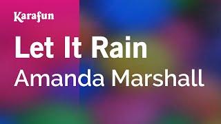 Karaoke Let It Rain - Amanda Marshall *