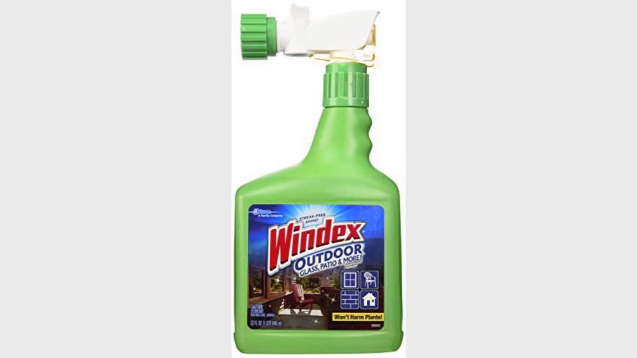 Windex Outdoor Gl Patio Cleaner 32oz