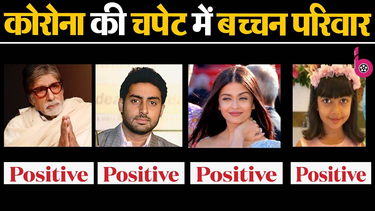 Aishwarya Rai Bachchan, Daughter COVID +ve, Jaya Bachchan Negative