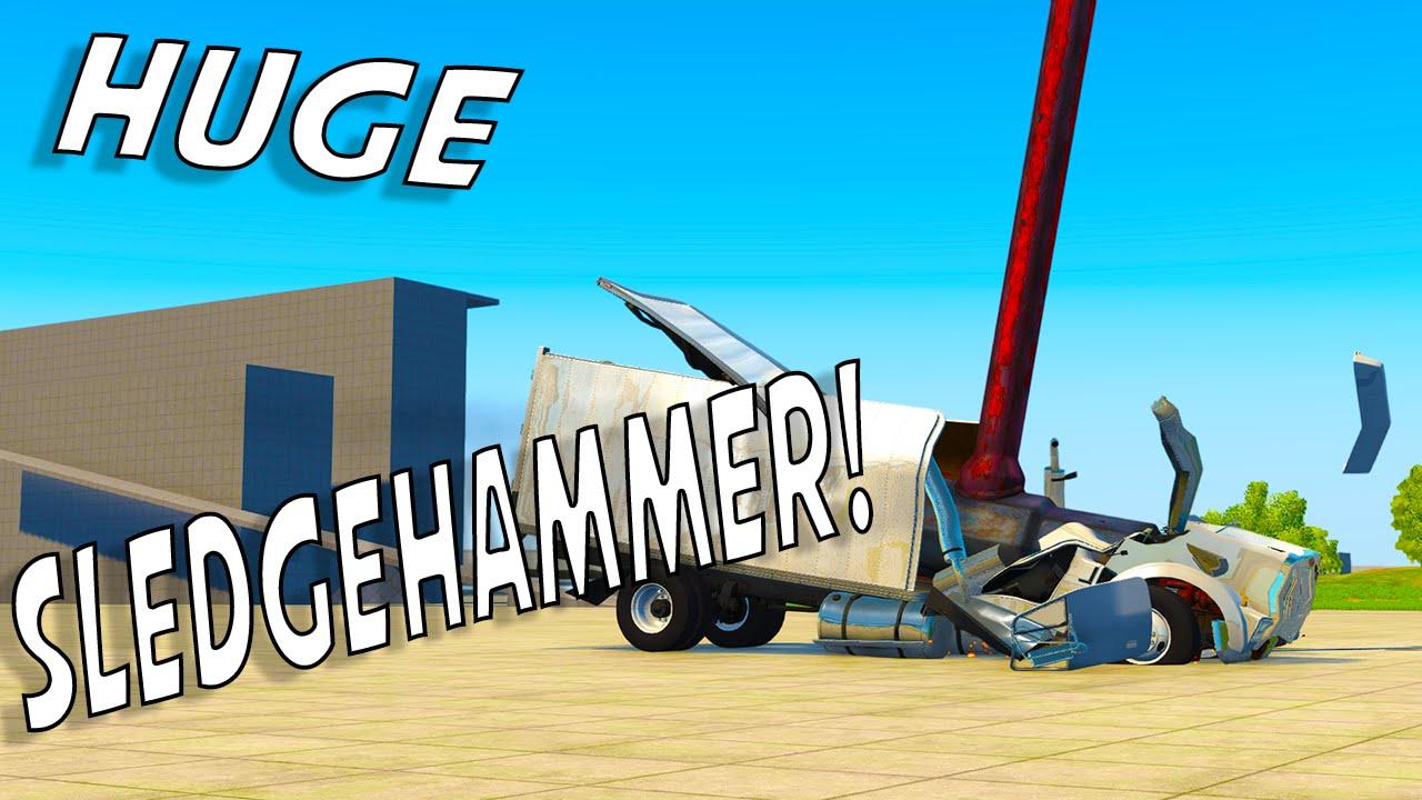 Giant sledgehammer