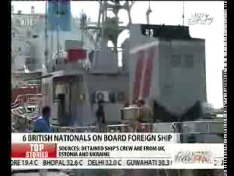 US ship crew arrest: UK seeks consular access to six British nationals
