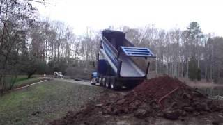 Kenworth Dumping Dirt