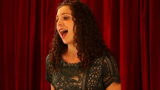 "Hannah Kiem - "" The Music That Makes Me Dance"" from  Funny Girl"