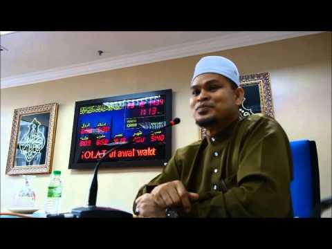 Ustaz Abdullah Khairi -Kisah 2 Tanah Suci Part 1
