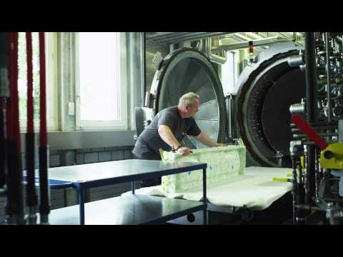 Sauber Factory: Autoclave, mechanical fabrication, rapid prototyping (full HD)