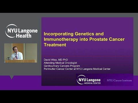 Prostate Cancer Genetics and Immunotherapy in Prostate Cancer Treatment