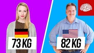 Was wiegen Menschen aus aller Welt