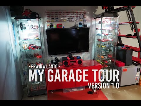 2018 Room Tour | Garage Tour with Loft |...