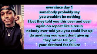 August Alsina - American Dreams (Lyrics)