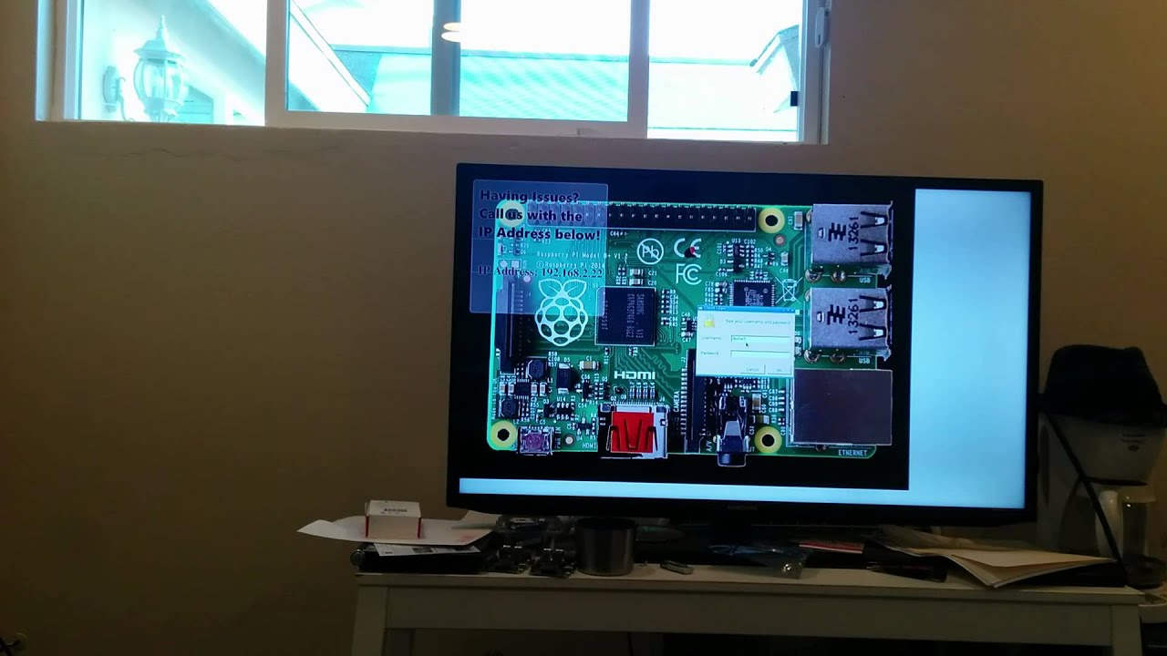 Raspberry Pi - Thin Client Project