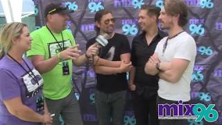 Dan & Michelle Interview Hanson Backstage At Pet A Palooza