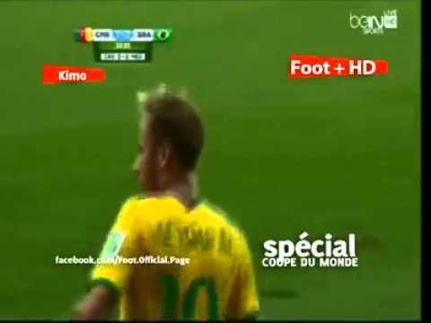 Cameroon 1 4 Brazil # All Goals ( Fahd Atibi )